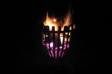 Einer Der Feuerkörbe