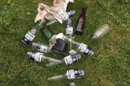 Überreste einer Corona-Party?
